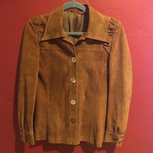 Vintage Suede Jacket Sz L